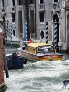 Ambulance in Venice