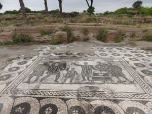 School floor in Ostia