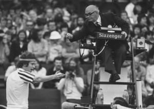 A John McEnroe tirade of yore.