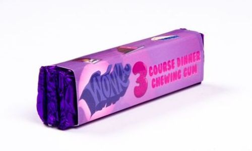 Wonka 3 course meal gum. Source: Bryton Taylor