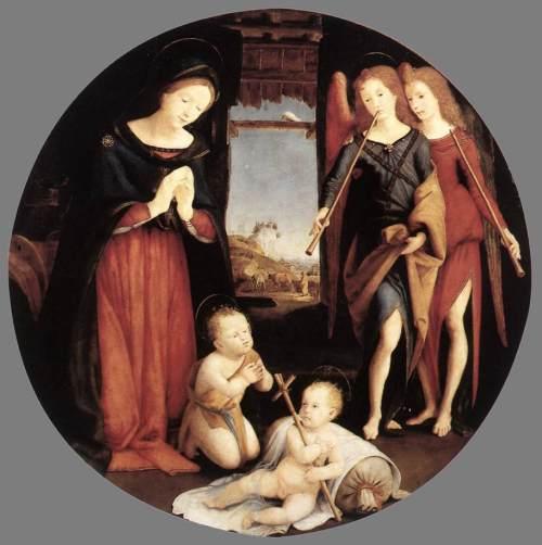 The Adoration of the Christ Child, Piero di Cosimo