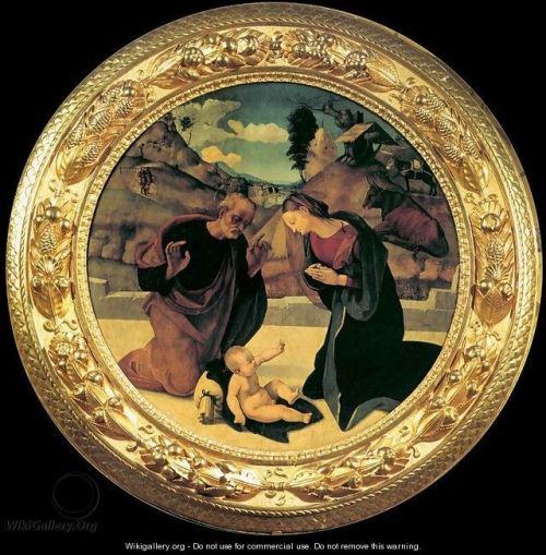 Adoration of the Child 2, Piero di Cosimo