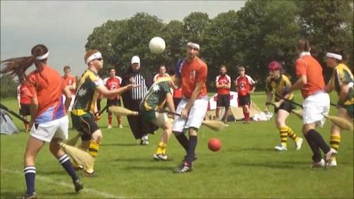 International Quidditch at Oxford University