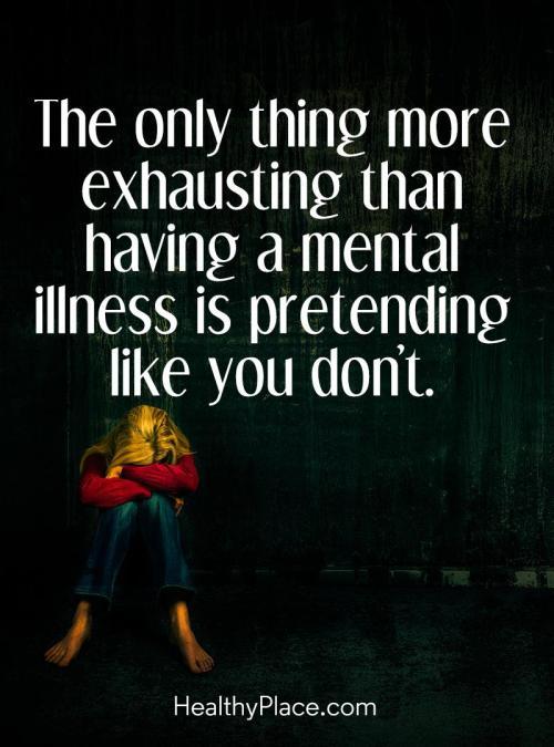Mental Health Escaping Elegance